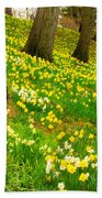Daffodil Hill Beach Towel
