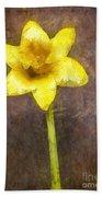 Daffodil Pencil Beach Towel