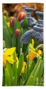 Daffodils 1 Beach Towel
