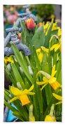 Daffodils 2 Beach Towel