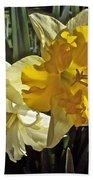 Daffodils 4 Beach Towel