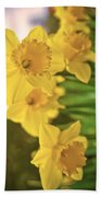 Daffodils V2 Beach Towel