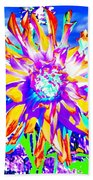 Dahlia Dazzle Beach Towel