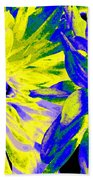 Dahlia Decor Beach Towel