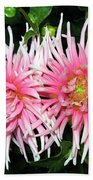 Dahlia Duo Beach Towel