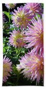 Dahlia Group Beach Towel