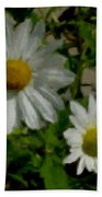Daisies By The Number Beach Towel