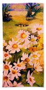 Daisies In The Sun Beach Towel