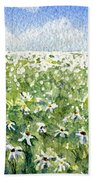 Daisy Field Beach Towel