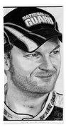Dale Earnhardt Jr In 2009 Beach Towel