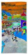 Dali Land Beach Towel