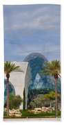 Dali Museum Beach Towel by Bill Cannon