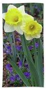 Dallas Daffodils 78 Beach Towel