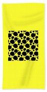 Dalmatian  Black Pattern 05-p0173 Beach Towel