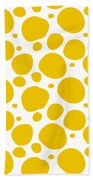 Dalmatian Pattern With A White Background 05-p0173 Beach Towel