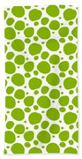 Dalmatian Pattern With A White Background 09-p0173 Beach Towel