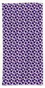 Dalmatian Pattern With A White Background 30-p0173 Beach Towel