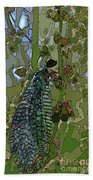 Damsel Fly Beach Towel