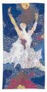 Dance Abstract In The Mix Beach Towel