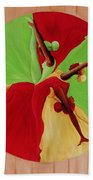 Dance Circle Beach Towel by Ikahl Beckford