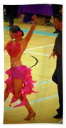 Dance Contest Nr 06 Beach Towel