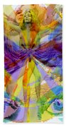 Dance Of The Rainbow  Beach Towel