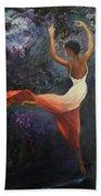 Dancer A Beach Towel