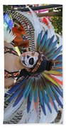 Dancer Day Of The Dead II Beach Towel