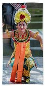 Dancer Of Bali Beach Towel