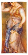 Dancer With Castanettes 1909 Beach Towel