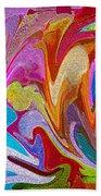 Dancing Colors Beach Towel
