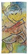 Dancing Ganesha Beach Towel