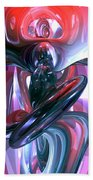 Dancing Hallucination Abstract Beach Towel