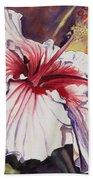 Dancing Hibiscus Beach Towel