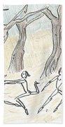Dancing In The Mountain Beach Towel