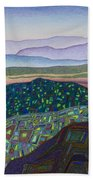 Dancing Light Of Northern New Mexico Beach Towel