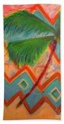 Dancing Palm Beach Towel