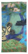 Dancing Shoes And Dogwoods Beach Towel