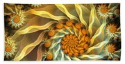 Dancing With Daisies Beach Towel