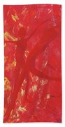 Dancing With Fire Rainbow Soul Collection Beach Towel
