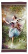 Dancing With The Light Beach Towel