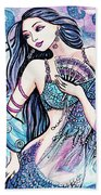 Dancing With The Waves Beach Towel