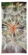 Dandelion Fuzz Beach Towel