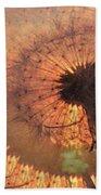 Dandelion Illusion Beach Towel
