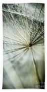 Dandelion Petals Beach Towel