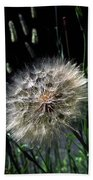 Dandelion Seedball Beach Towel