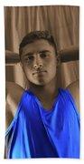 Daniel Blue Shirt Beach Towel
