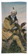 Daniel Boone (1734-1820) Beach Towel