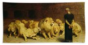 Daniel In The Lions Den Beach Sheet