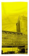 Daring Architecture Beach Towel